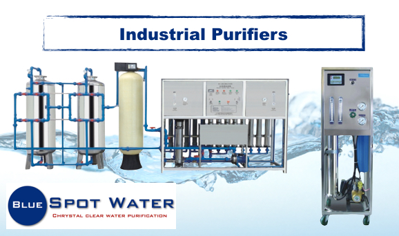 Industrial purification, www.bluespotwater.co.za
