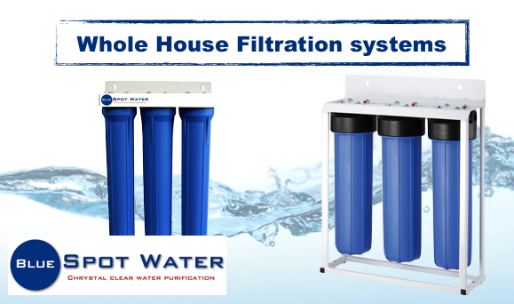 Whole House Purifiers 3 Stage Big Blue www.bluespotwater.co.za