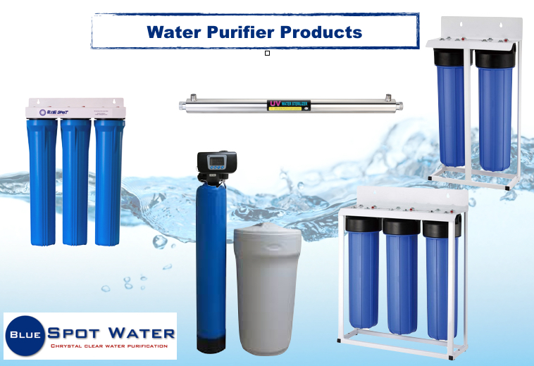 Bore Hole Water Purifier, Filter. Softener, Carbon,Clino Media, Sand, DMI-65, UV-Light, Chlorinator. www.bluespotwater.co.za