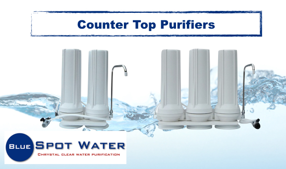 Counter Top Filters, 2 stage, 3 Stage. www.bluespotwater.co.za
