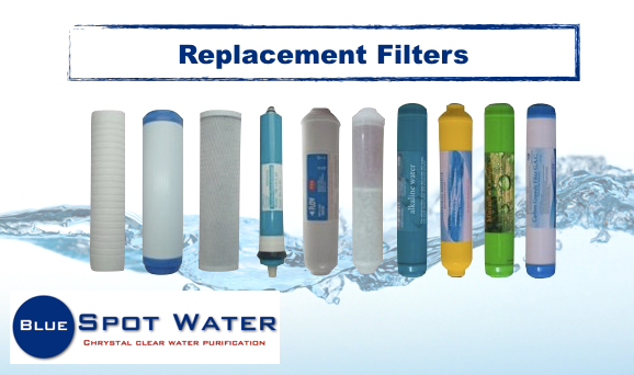 Replacement Filter Cartridges, Sediment, Polypropylene, Melt blown, Carbon, CTO, UDF, GAC, Membranes, Post Carbon, Minerals, Alkaline www.bluespotwater.co.za