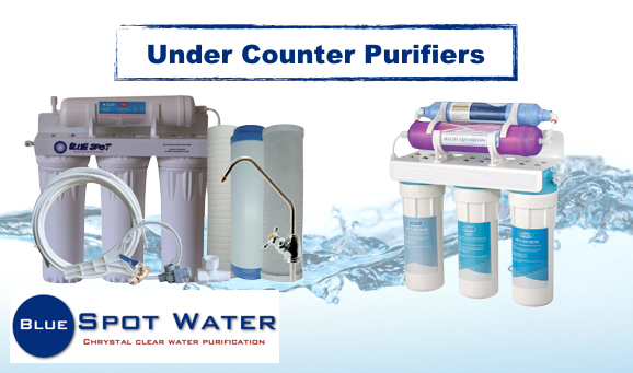 Under Counter Purifiers, 3 Under counter, 4 Under counter, UF Purifier www.bluespotwater.co.za