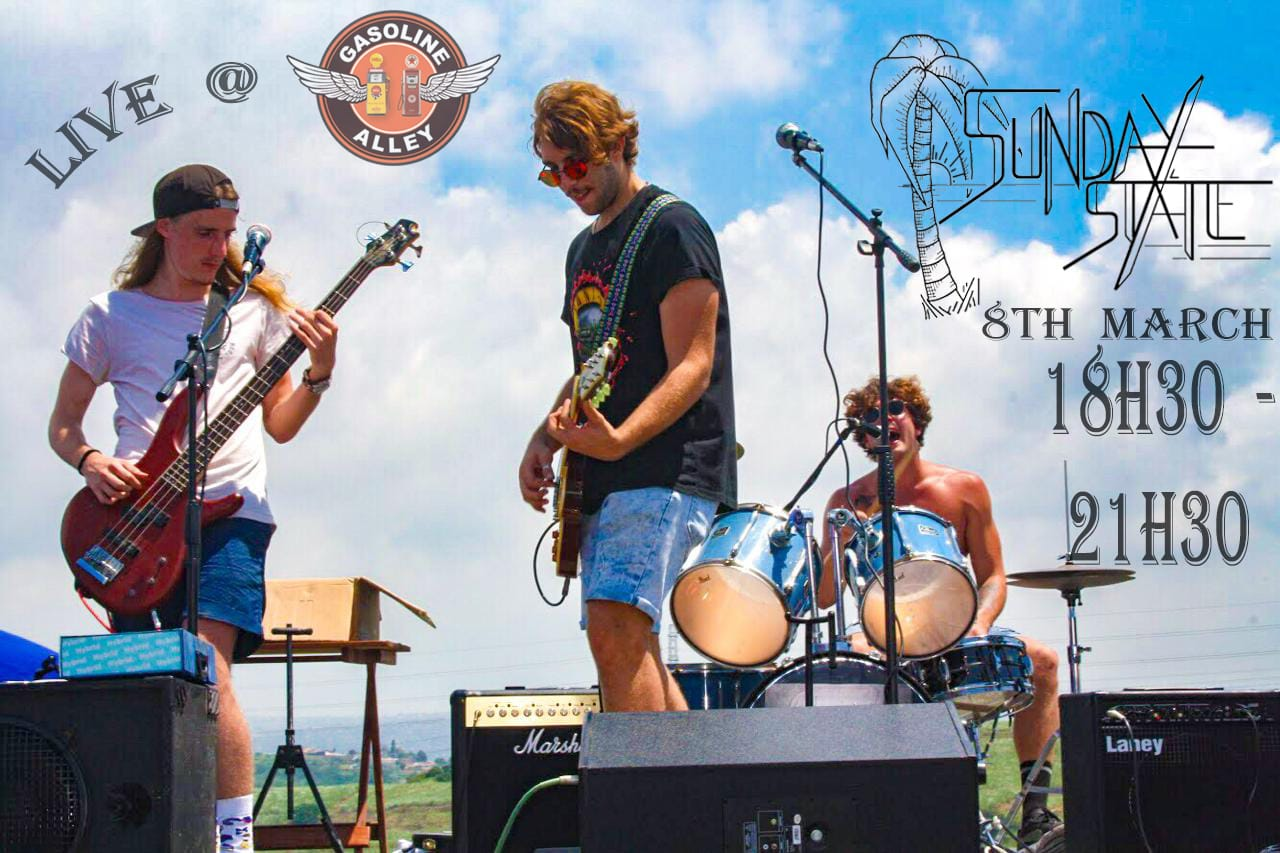 Sunday State Band Live at Gasoline Alley - 8th March 2019