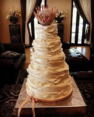 South African Wedding Cakes Pictures